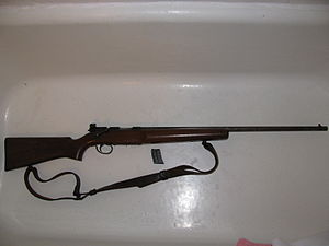 Remington Model 521 TL Junior - Image: Remington 521Rifle