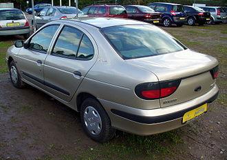 Renault Mégane - Pre facelift Renault Megane sedan