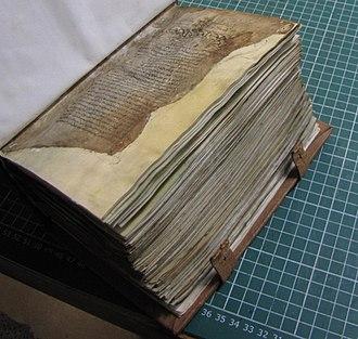Museum of Byzantine Culture - Restored book