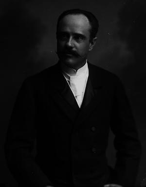 Ernesto Hintze Ribeiro - Portrait by Octávio Bobone, c. 1907.