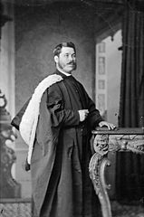 Revd Canon Evan Thomas Davies, Saint David's Church, Liverpool (Dyfrig, 1847-1927)