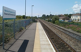 Cardiff Airport - Rhoose Cardiff International Airport railway station