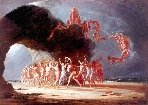 Richard Dadd - Come unto These Yellow Sands