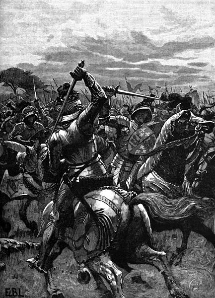 File:Richard III at the Battle of Bosworth.jpg