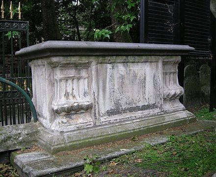 Tomb of Richard Price (died 1791), moral philosopher and nonconformist preacher, and his wife Sarah (died 1786) Richard Price monument.JPG