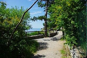 Rilke trail - A view of the Rilke trail