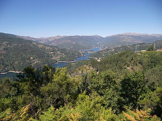 Peneda-Gerês National Park - A view of the Lima River and landscape within the national park