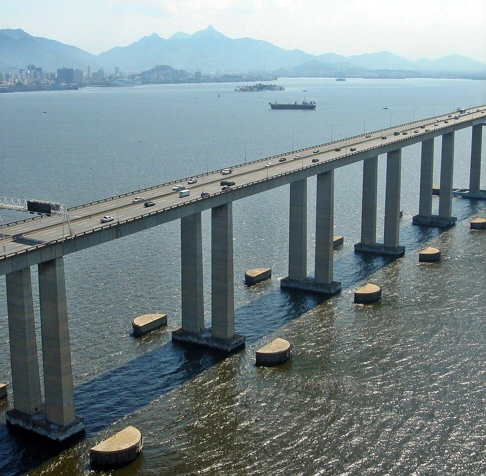 Rio de Janeiro Ponte Niteroi Aerea 102 Feb 2006