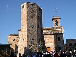 Ripe San Ginesio - Image: Ripe San Ginesio Torre 2
