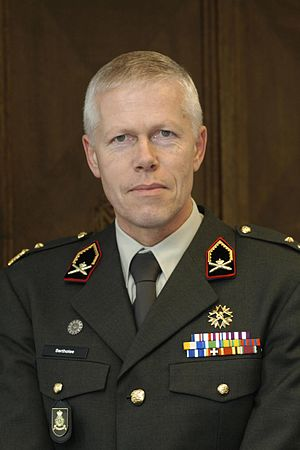 Rob Bertholee - Rob Bertholee as a major general in 2005