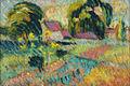 Robert Antoine Pinchon, c. 1905, Hameau des environs de Rouen, oil on canvas, monogram lower left, 22 x 33 cm.jpg