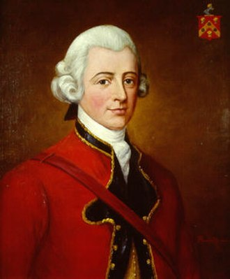 Florence MacKubin - Sir Robert Eden, 1st Baronet, of Maryland. MacKubin made paintings of her ancestors, the first and second Barons Baltimore, based upon originals owned by Sir William Eden.