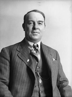 Robert Macfarlane (New Zealand politician) - Robert Macfarlane in ca 1951