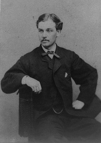Robert Todd Lincoln - Robert Todd Lincoln, circa 1860–1870