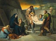 Die Grablegung (1829) (Quelle: Wikimedia)
