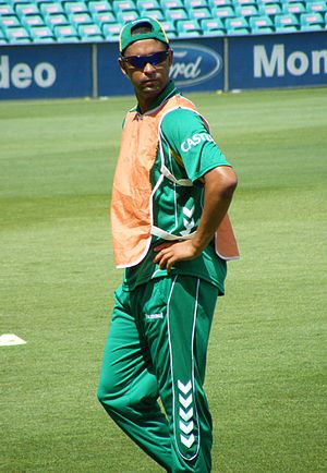 Robin Petersen - South Africa Cricket team tra...