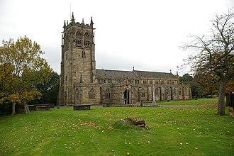 Rochdale (ancient parish) - Image: Rochdale Parish Church