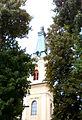 Rokitno, wieża bazyliki mniejszej P9160192.JPG