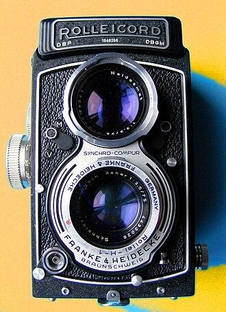 Astrid Kirchherr - A Rolleicord camera (1955), which Kirchherr used