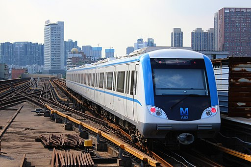 Rolling stock NO. A62 of Wuhan Metro Line 1
