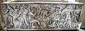 Roma, sarcofago con la morte di meleagro, collez. borghese, 180 dc ca. 01.JPG