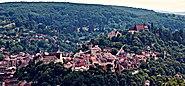 Romania Transylvania Sighisoara Medieval Fortress Panorama 2