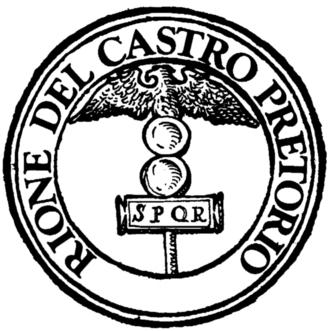 Castro Pretorio - Logo of the rione.