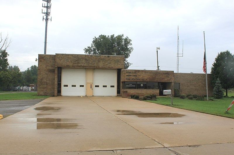 File:Romulus Fire Station No. 4, 28777 Eureka Road, Romulus, Michigan - panoramio.jpg