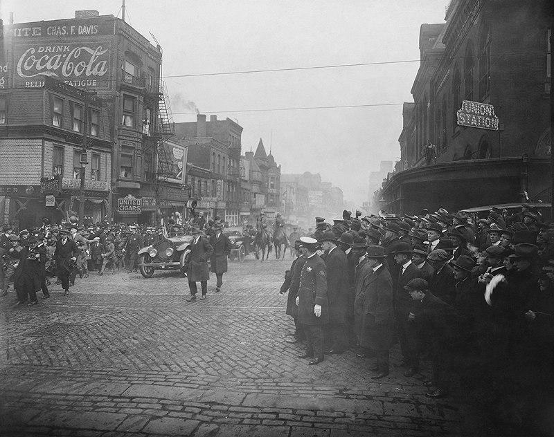 Roosevelt in Chicago, 1915