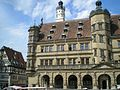 Rothenburg ob der Tauber town hall, May 2013.jpeg
