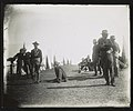 Rough Riders sitting or standing near tents at military camp, Montauk Point, New York LCCN2013651538.jpg