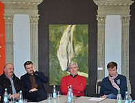Round Table about Contemporary Art in Minsk Center Contemporary of Arts 17.03.2015 01.JPG