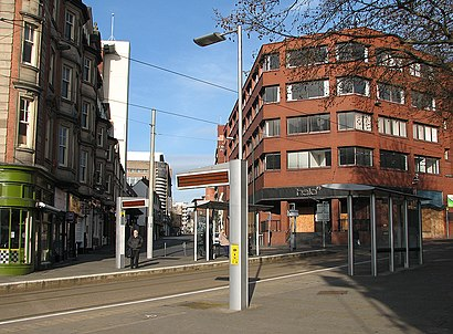 How to get to Royal Centre Tram Stop with public transport- About the place