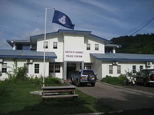 Law enforcement in Grenada - Royal Grenadian Police station, Grand Anse, St. George's, Grenada