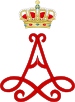 Royal Monogram of Princess Astrid of Belgium.svg