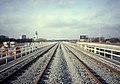 Rozenoordmetrobrug over de Amstel in 1990.jpg