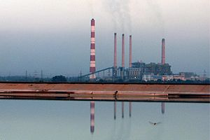 Electricity sector in India - Ramagundam Super Thermal Power Station, Telangana