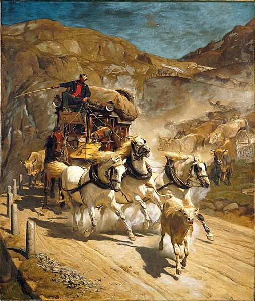 File:Rudolf Koller - Die Gotthardpost (1874).jpg