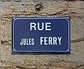 Rue Jules Ferry (Belley), panneau.jpg