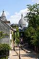 Rue de l'Abreuvoir, Montmartre, Paris 9 July 2015.jpg
