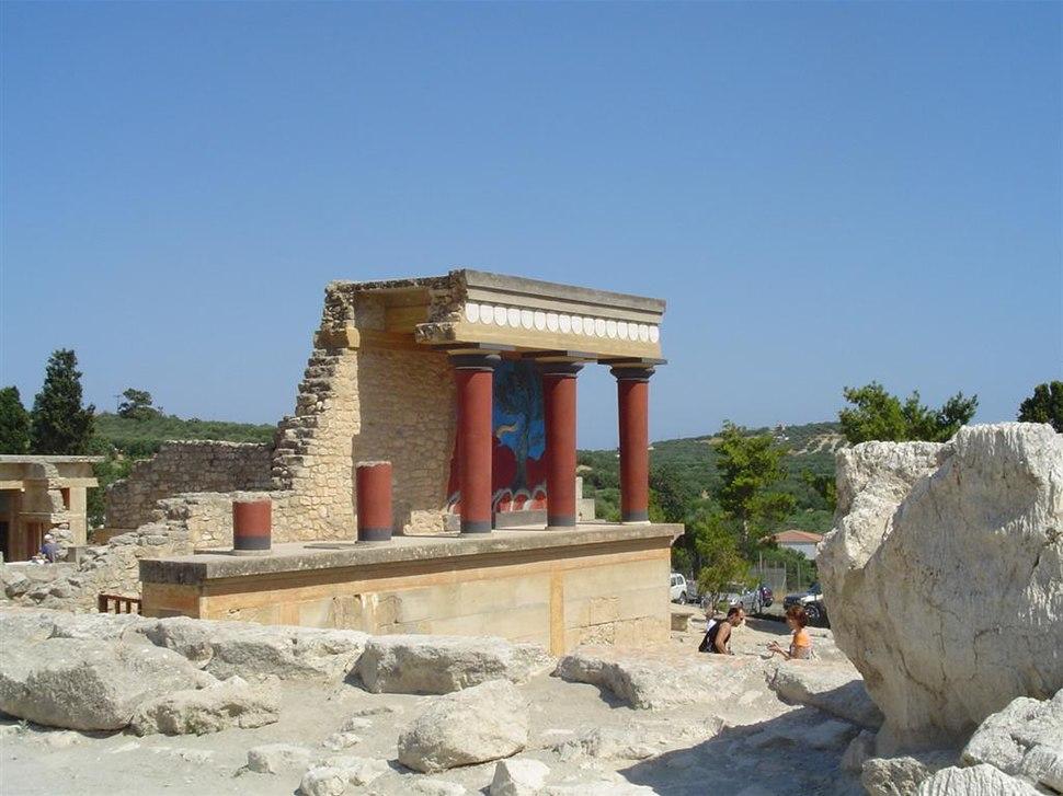 Ruines of Knossos - panoramio