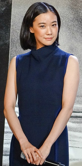 Yū Aoi - Yu Aoi at the premiere of Rurouni Kenshin: Kyoto Inferno / The Legend Ends in June 2014