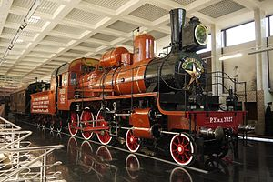 4-6-0 - U class U-127, Lenin's locomotive, at the Museum of the Moscow Railway