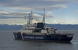 Coast Guard (Russia) - Image: Russian coast guard vessel 183
