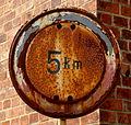 Rusty 5km Sign (8742470132).jpg
