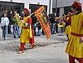Rutenfest 2011 Festzug Handelsgesellschaft Fahne Venedig.jpg