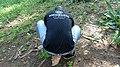 Séance prise de photos par le Directeur du CNF au jardin botanique uac.jpg