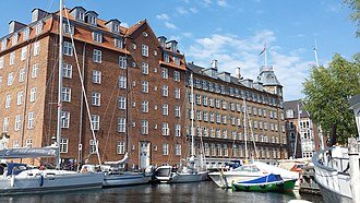 Seamen's Association of 1856 - Princess Marie's Seamen's Home in Christianshavn where the association is also based