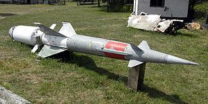 S-125 Neva/Pechora - Abandoned Soviet S-125 missile near Saare, Saaremaa, Estonia.
