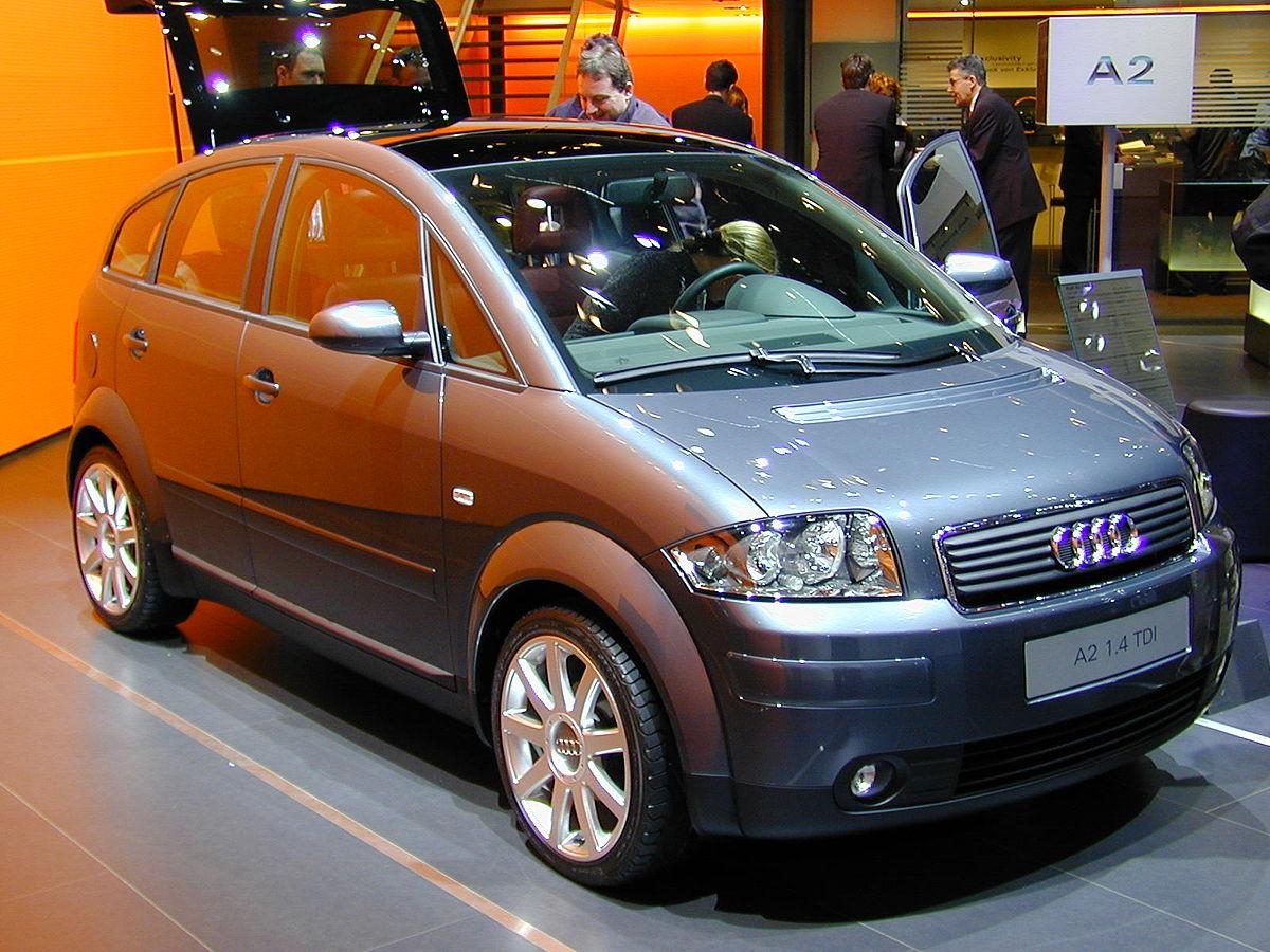 Audi A2 - Simple English Wikipedia, the free encyclopedia